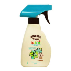 protector solar hawaiian tropic kids 50+fps 240 ml