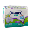 Diapro Ropa interior desechable Predoblado gel