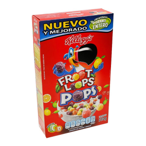 cereal kellogg´s froot loops pops 310 g