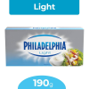 philadelphia queso crema light 190 gr u