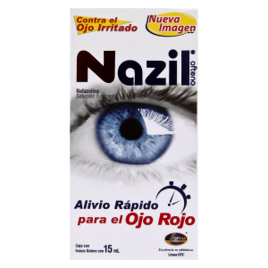 Nazil Ofteno 1mg/mL Caja Con Frasco Gotero Con 15mL