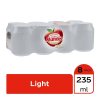 Refresco Sidral Mundet light sabor manzana 8 latas de 235 ml c/u