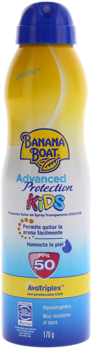 protector solar banana boat kids fps 50 en spray 170 g