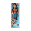 Dc super hero training action doll