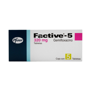 Factive-5 320 Mg Tab 5           N