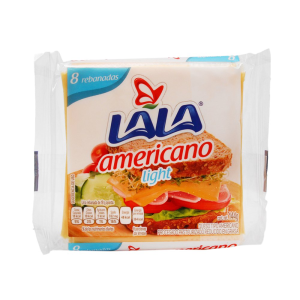 queso amarillo lala americano light 144 g