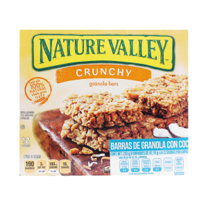 barra cereal nature valley 02 kilogramo caja