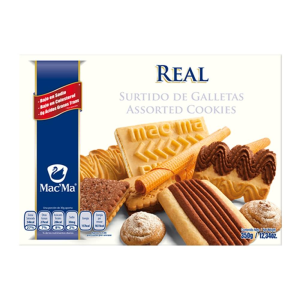 galletas mac ma real surtido 350 g