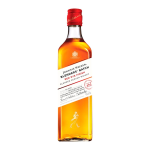whisky johnnie walker red rye finish escocés blenders batch 750 ml