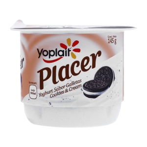Yoplait Yogurt Batido Cookies & Cream Placer 145 Gr Pz