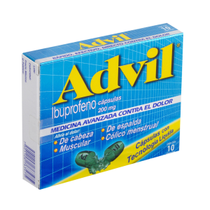 Advil Fast Gel 200 Mg Oral  10 Capsulas
