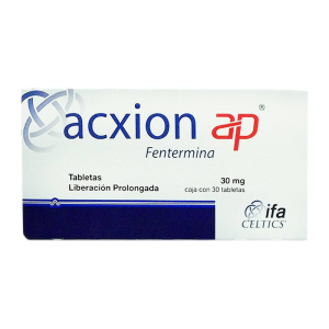 Acxion ap 30 mg 30 tabletas
