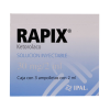 Rapix 30 mg/2 ml solución inyectable 3 ampolletas con 2 ml c/u