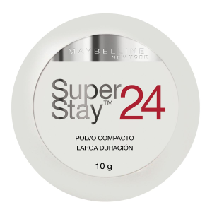 polvo compacto maybelline superstay 24 porcelain ivory larga duración 10 g