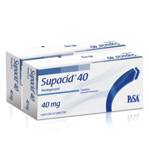 Supacid 40 Mg. Oral 14 g. Grageas