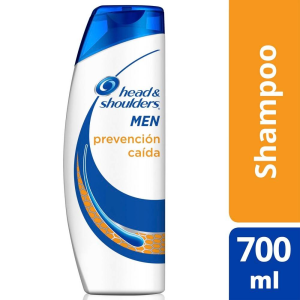 shampoo head and shoulders prevención caída 700 ml