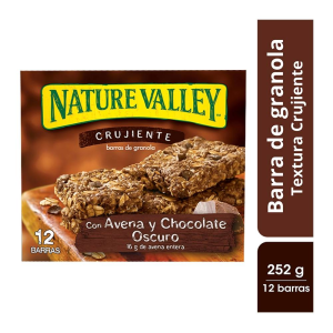 Barras de granola Nature Valley con avena y chocolate oscuro 252 g