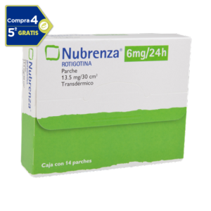 Nubrenza 6 mg/ 24 h Caja Con 14 Parches