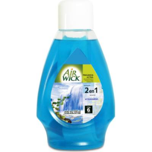 aromatizante ambiental air wick fragancia activa acquamarina 365 ml