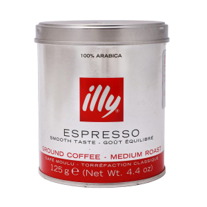 illy cafe molido express lata 125 gr