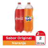 refresco coca cola 2 l + refresco fanta botellas de 2 l