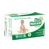 pañales huggies eco natural etapa 4 unisex 40 u