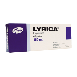 Lyrica 150 mg con 14 cápsulas