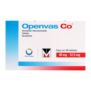openvas co 40 mg  125 mg 28 tab recubiertas