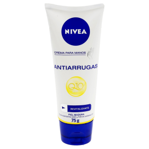crema para manos nivea antiedad q10 plus 75 ml