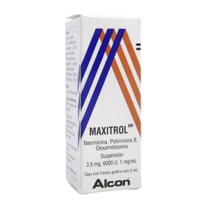 maxitrol oftalmico 5 ml suspension