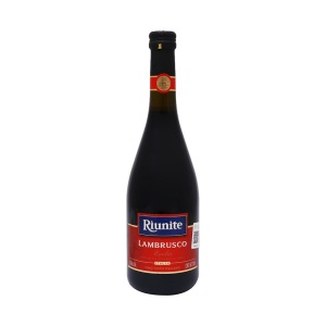 vino tinto riunite lambrusco 750 ml