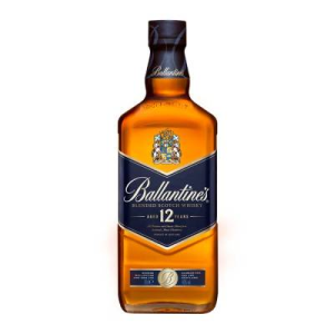 ballantines whisky 12 años 750 ml botell