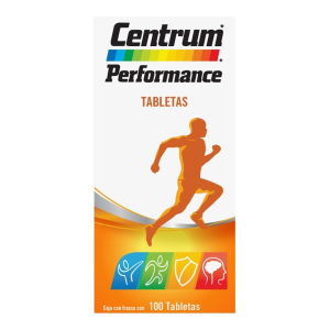 multivitamínico centrum performance tab 100 uas