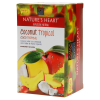infusión herbal terrafertil natures heart coco tropical 20 sobres de 1 75 g u