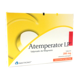 Atemperator LP 200 mg 30 tabletas de liberación prolongada