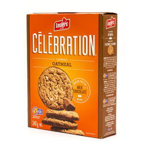 Galletas Leclerc Avena Chocolate Celebr