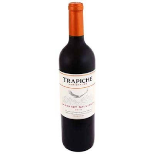 vino tinto trapiche vineyards cabernet sauvignon 750 ml