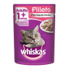 alimento para gato whiskas fillets parrillada mixta adulto 85 g