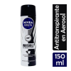 NIVEA MEN DESODORANTE SPRAY INVISIBLE FOR BLACK & WHITE FRASCO SPRAY CON 150 ML
