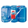 Refresco Pepsi 6  latas de 237 ml c/u