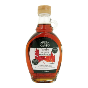 jarabe de maple aires de campo orgánico 236 ml