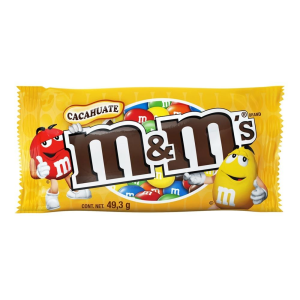 Chocolate m&m's con cacahuate 49.3 g