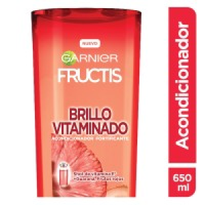 Acondicionador Garnier Fructis brillo vitaminado cabello normal a opaco 650 ml