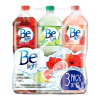 agua be light 3 pack sabores jamaica lima y toronja de 15 l