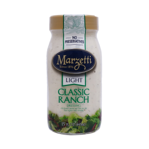 aderezo marzetti light classic ranch light 443 ml