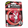 Playboy Condoms Extra Sensible  Estuche Con 3 Unidades