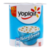 Yoghurt Yoplait natural con granola 125 g