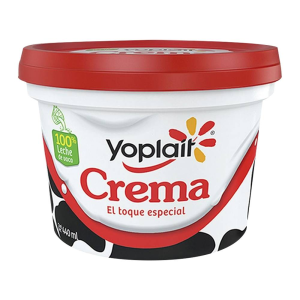yoplait crema acida 440 gr envase