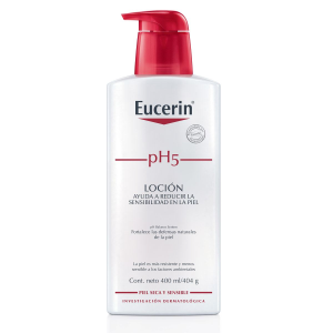 crema líquida eucerin ph5 piel sensible 400 ml