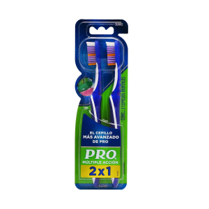 PRO Cepillo Dental Multiple Acción  40 Suave (2 piezas)